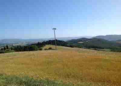 Beeldhouwen in Italië - in een natuurgebied