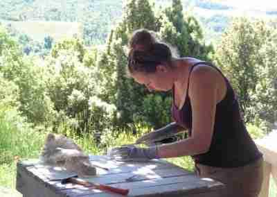 beeldhouwvakantie Italië Hester Glasbergen