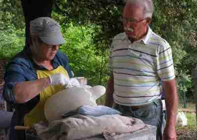 beeldhouwvakantie Hester Glasbergen